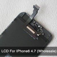 10 개/몫 아이폰 6 LCD 디스플레이 터치 스크린 디지