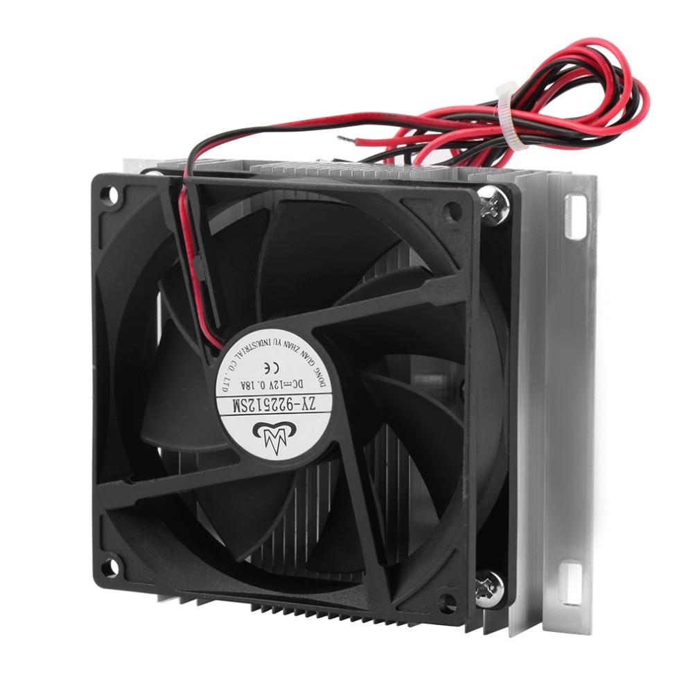 Newest Thermoelectric Peltier Refrigeration Cooling Cooler Fan System Heatsink Kit!!Best Selling and Best Quality !!! thermoelectric peltier refrigeration cooling cooler fan system heatsink kit