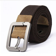 Men's Casual Pin Buckle Canvas Belt