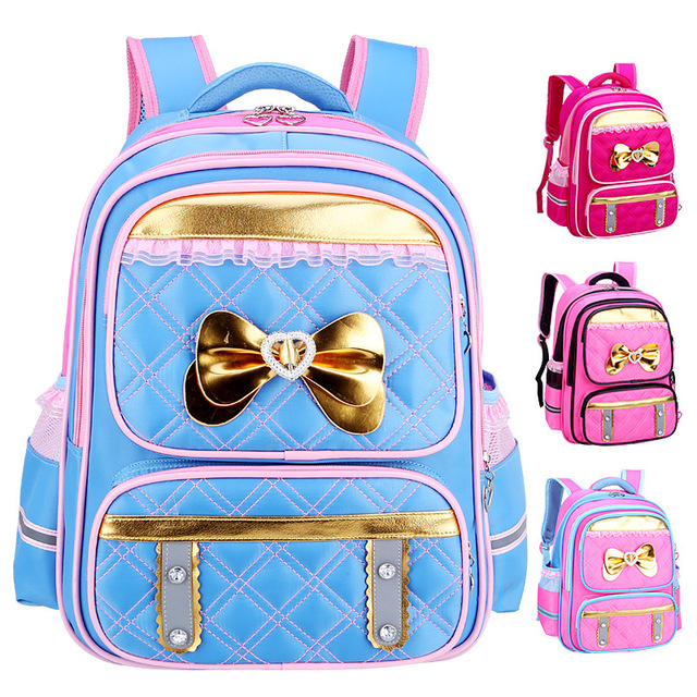 Girl School Bags Cute bow book bag Korean Children School Backpacks 1 - 3 -  6 b38e5ddc2ae1e