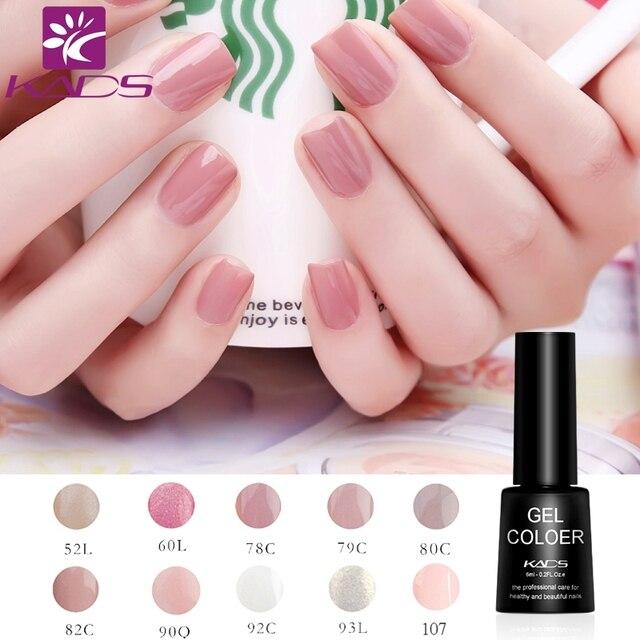 Kads 20 Color Optional Charming Light Series 7ml Black Faby Nail Polish