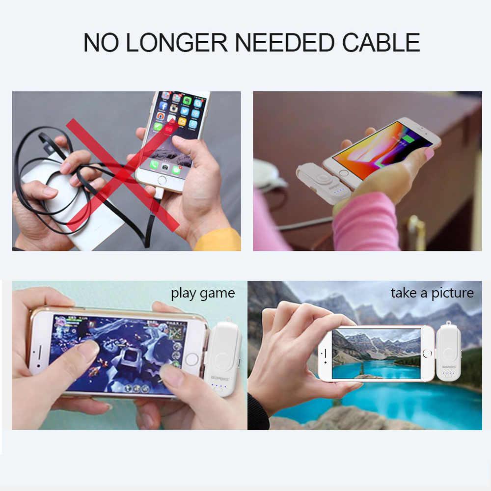 磁気パワーバンクの Iphone/マイクロ USB/タイプ C ミニマグネット充電器電源銀行 18650 iphone/ iPad/Xiaomi/LG/Huawei/サムスン