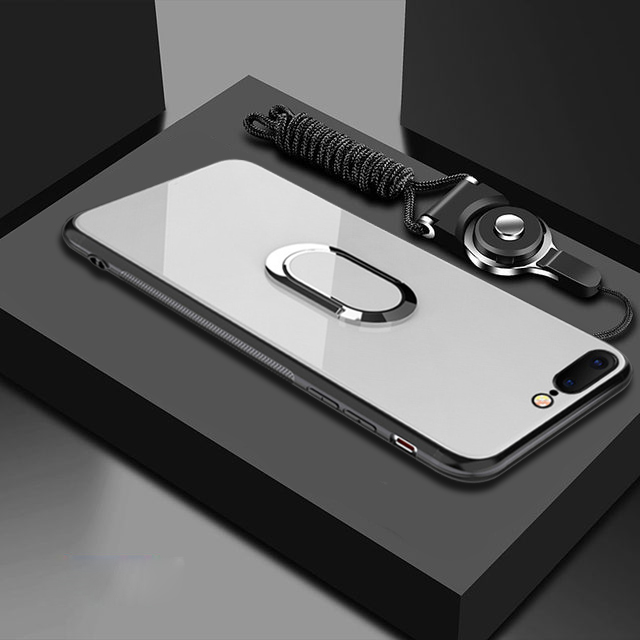 Case-for-iPhone-7-8-X-6-S-6S-Plus-Car-Holder-Magnetic-Suction-Ring-Bracket