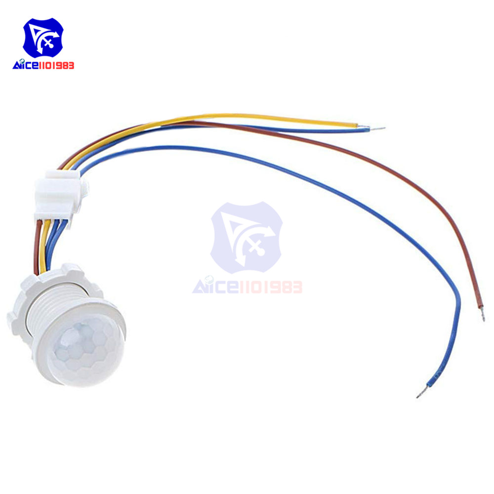 100V-240V 50Hz PIR Motion Sensor Switch IR Infrared Human Body Induction Sensor Light Control Detector Module Sensor