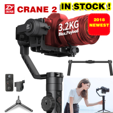 2018 Newest Zhiyun Crane 2 3-Axis Handheld Gimbal Video Camera Gyro Stablizer for DSLR Mirrorless Camera Canon 5D2/5D3/5D4 DHL handheld gimbal 32bit stabilizer 3 axis gyroscope for dslr camera 5d3 a7s r2 gh4 md2