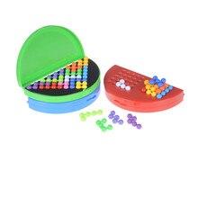 Классическая головоломка Пирамида пластина IQ жемчуг логическая игра разума для детей Пирамида бусины Головоломка Развивающие игрушки