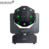 NEW Arrive 16 laser beam strobe effect 3in1 shake head laser light Stage Star Performance lamps