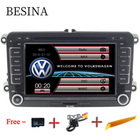 Besina 7 Inch 2 Din Car DVD Player For Volkswagen VW Volkswagen Passat POLO GOLF Skoda