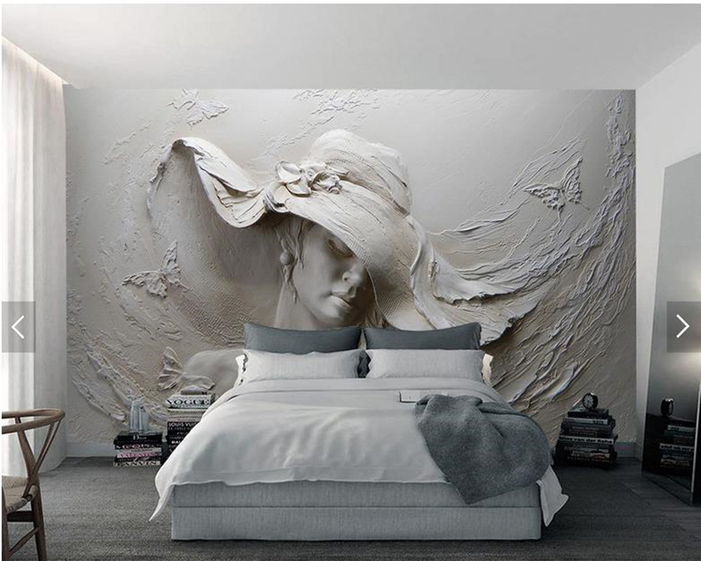 Custom Modern Art Wallpaper 3d Three Dimensional Relief Hd Beautiful Mural For Living Room
