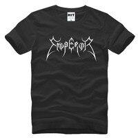 Mens Men EMPEROR Black Metal Music T Shirt T Shirt 2016 Fashion Short Sleeve O Neck
