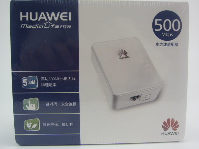 HUAWEI PT500 500M Powerline Adapter High-speed Cat Power Powerline Adapter Kit Change the Wire Cable Transmission plug&play