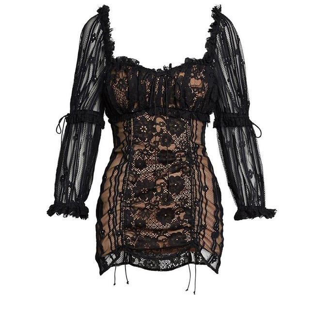 Sexy Lace Patchwork Women...