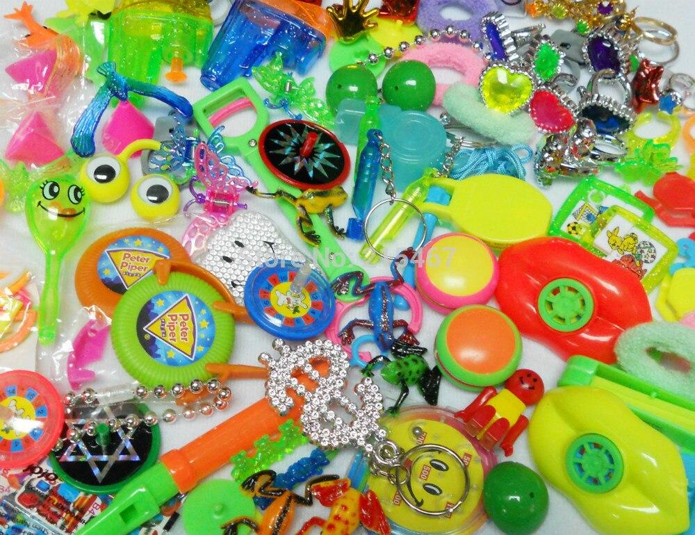 100 Pcs Mix B Mixed Party Toys Lucky Novelty Boy Kid Birthday Favors