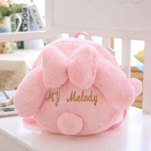 Nooer Kawaii Cute Rabbit Plush Backpack Cute Girl Plush Shoulder Bag School Bag For Kids Girl