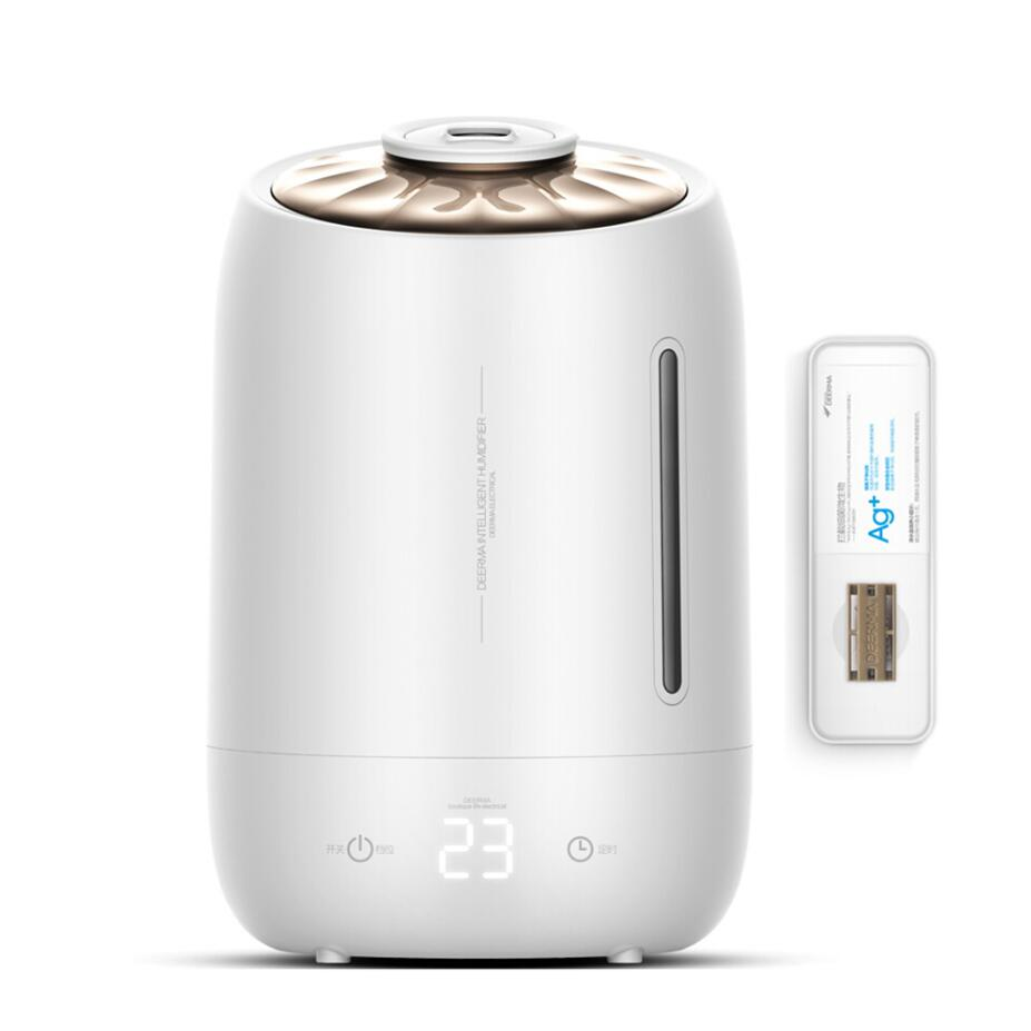 GRTCO 5L Touch Control Ultrasonic Air Humidifier Aroma Oil Diffuser Ionizer Generator Aromatherapy Ag+ Purifier Mist Maker цена и фото