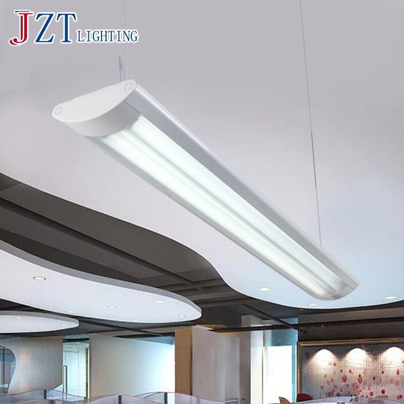 М офис люстра двойной led труб Коммерческое освещение исследование офис Конференц зал Длинные линии висит T8 Флуоресцентный Лампы для мотоци