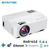 BYINTEK Brand L5 Smart Android Multiscreen Mini Home Theater Cinema LED Portable Movie Video HDMI USB