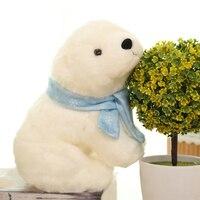 Sleeping Plush Toy Soft Dolls Stuffed Animals Polar Bear Small Presents Brinquedos Plush Bear Knuffels Baby