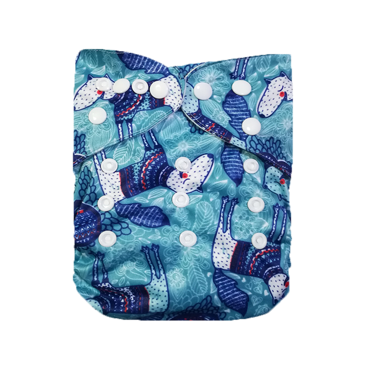 LilBit 1 Baby Reusbale Pocket Cloth Diaper Cover with a microfiber insert