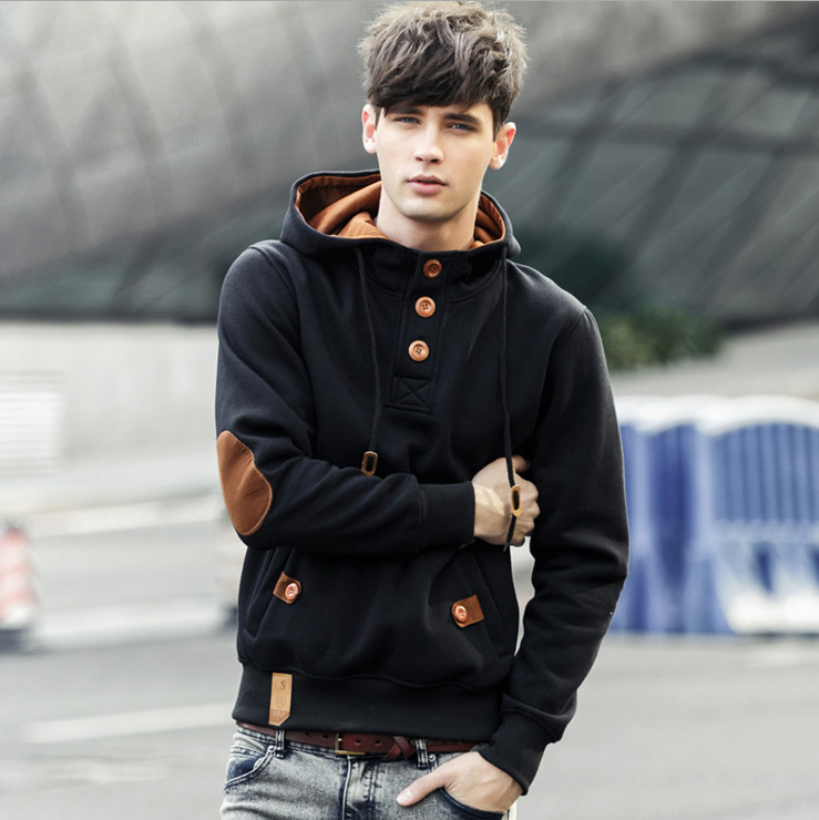 2017 Autumn Men Hoodies Europe And America Style Fleece