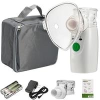 Portable Steaming Devices Ultrasonic Handheld Nebuliser Inhaler Nebulizer Mesh Humidifier Atomizer Respirator Household Medical