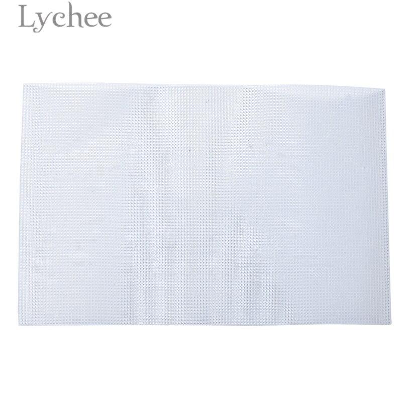 Lychee Plastic Mesh Grid Sewing Grid Plate For Handbags Car Cushion Accessories DIY Sewing Cratfs Tools