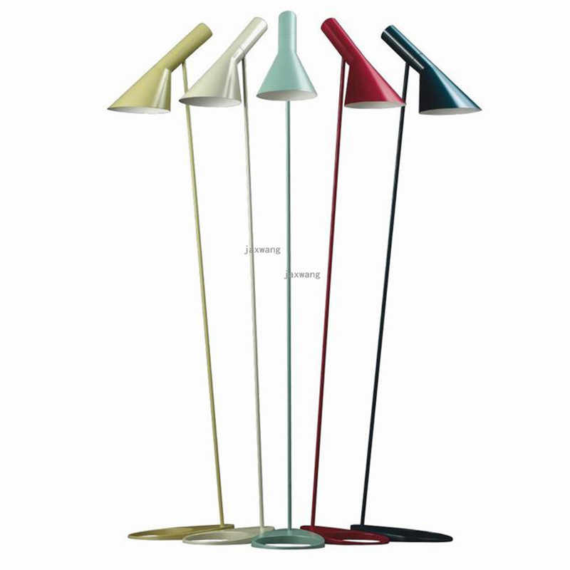 Simple Nordic Iron Loft LED Floor Lamp Tripod LED Lamp Stand Lighting Standing Lamp Foot Living room Stand Light AJ Floor Lamps
