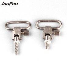 JouFou Hunting Gun Accessories Quick Detach Push Button Sling Swivel Mount Adapter for Carbine Rifle