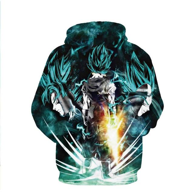 Dragon Ball Z Pocket Hoodie Sweatshirts Pullovers