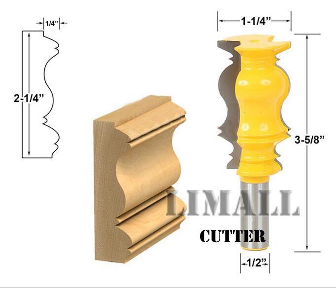 SHK:1/2inch  Woodworking cutter knife multi-angle handrail lines milling cutter Gong milling engraving knife футболка shk mode shk mode sh019ewrjs36