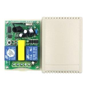 Image 3 - 관형 모터 차고 문/프로젝션 스크린/셔터 ac 220 v rf 무선 원격 제어 스위치 디지털 디스플레이 화면