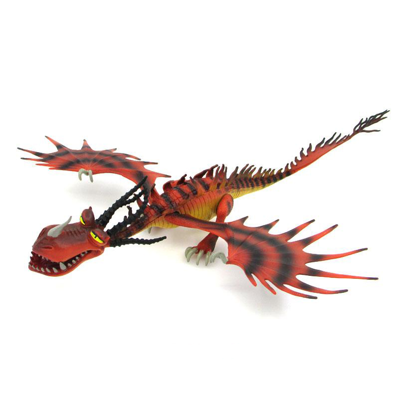 Image 3 - Servwell Dragon Master 25 37cm Toothless Night Fury Action Figure Toy Deadly Nadder Hageffen Gronckle Collectible Toy ChildrenAction & Toy Figures   -