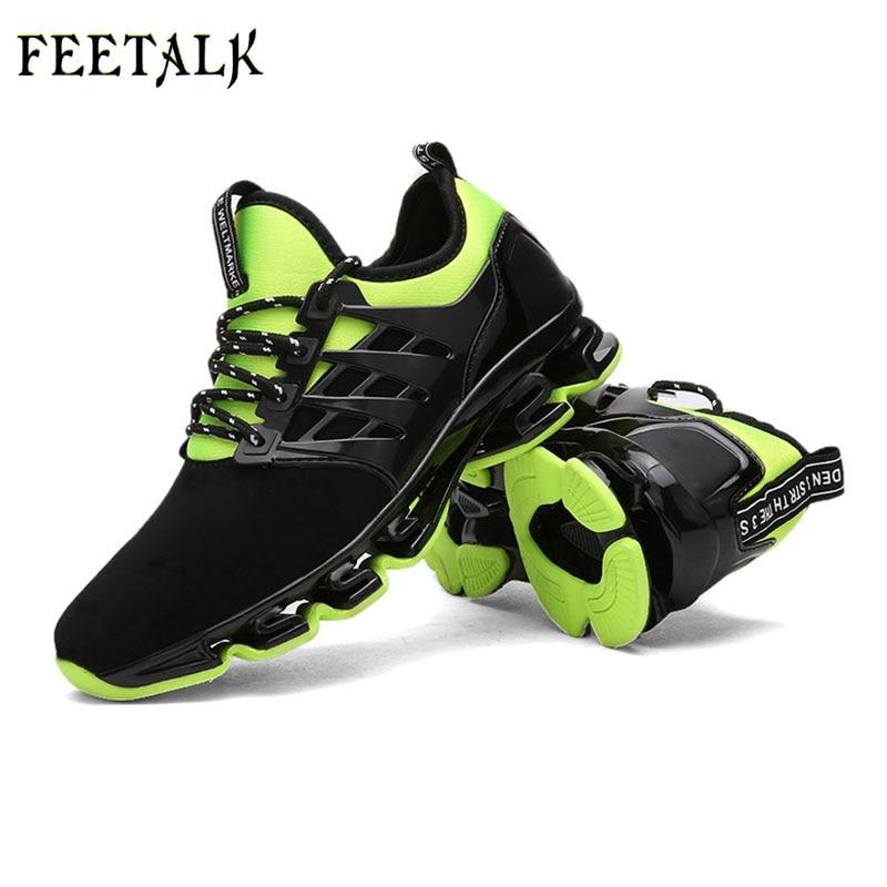 Pria olahraga sepatu lari, Rhythm musik sepatu pria, Mesh bernapas, - Sepatu kets - Foto 4