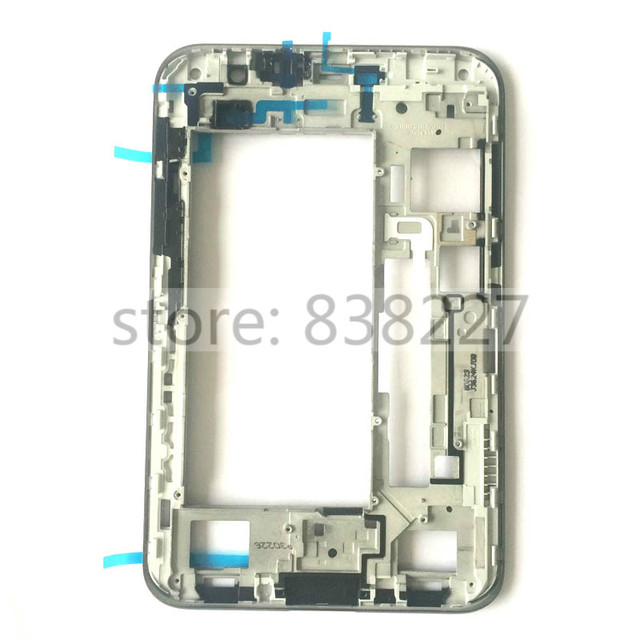 front housing For Samsung Galaxy Tab 2 P3100 P3110 P3113 front frame rim middle housing bezel Grey and Silver  in stock