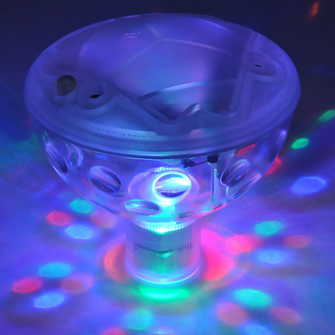 Underwater Light Floating Underwater LED Disco Light Glow Show Swimming Pool Hot Tub Spa Lamp