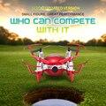 Mais novo jjrc h30ch mini rc quadcopter drone com câmera de 720 p 2.4G 4CH 6 Axis Headless Modo Pairando vôo RTF Helicóptero DO RC toys