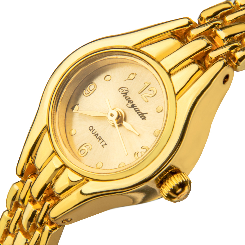 Women Watch Fashion Casual Gold Stainless Steel Bracelet Watch Small analog Dial Female Wristwatch Hour Clock elegant Relojes все цены