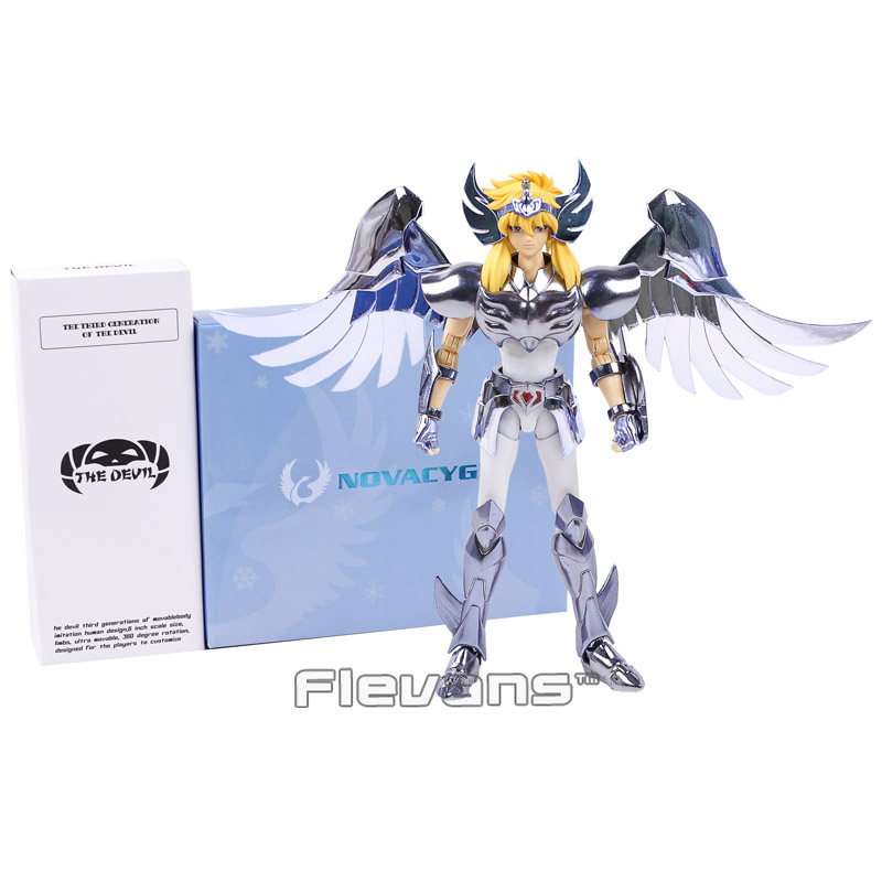 Saint Seiya Cloth Myth Hyoga PVC Action Figure Collectible Model Toy 18cm купить