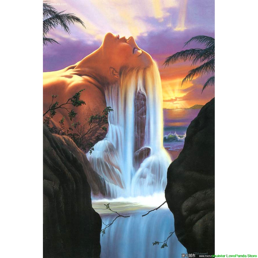 Arts,crafts & Sewing Reasonable Diamond Embroidery,diamond Painting,cross Stitch,mosaic,needlework,crafts,hair Waterfall Fantasy Christmas Decorations For Home Available In Various Designs And Specifications For Your Selection