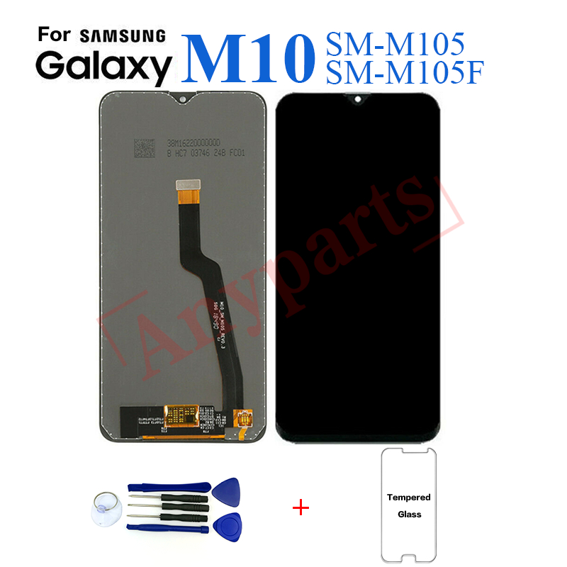 For <font><b>Samsung</b></font> SM-M105F <font><b>M10</b></font> Display <font><b>lcd</b></font> <font><b>Screen</b></font> replacement for <font><b>Samsung</b></font> M105F SM-M105F <font><b>M10</b></font> <font><b>lcd</b></font> display touch <font><b>screen</b></font> complete module image