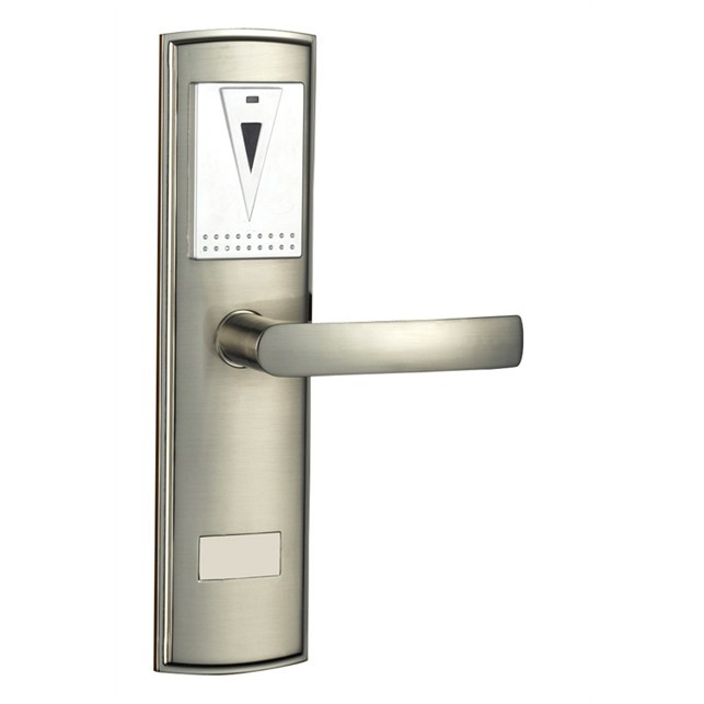 hotel lock system,RFID hotel lock , Zinc alloy forging meterial ,gold , silver , IC card ,sn:CA-8025 rfid t5577 hotel lock stainless steel material gold silver color a test t5577 card sn ca 8006