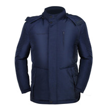 smart ware factory price chilly winter windproof electric battery rechargeable heated jacket men