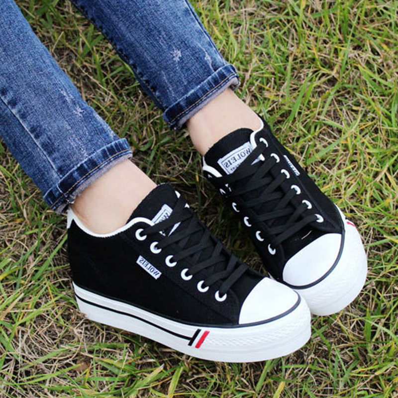 Spring Summer Women New Casual Shoes 2018 Fashion Breathable Lace-Up Ladies Sneakers Female Footwear Women Shoes CBT997