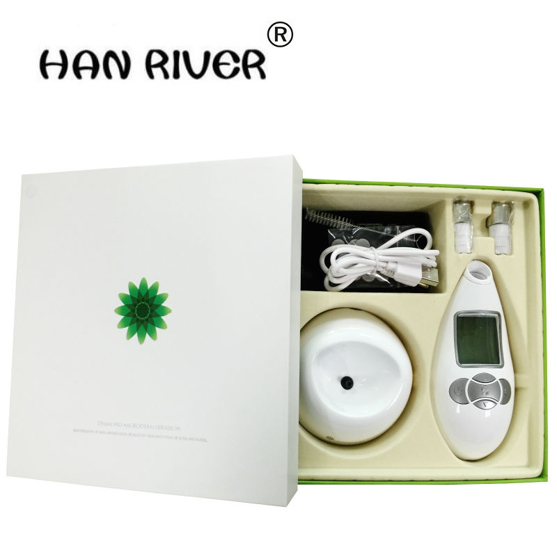 HANRIVER 2018 Best Personal Portable Diamond Microdermabrasion Machine Removal wrinkle Dead Skin Peel Machine Beauty toolHANRIVER 2018 Best Personal Portable Diamond Microdermabrasion Machine Removal wrinkle Dead Skin Peel Machine Beauty tool