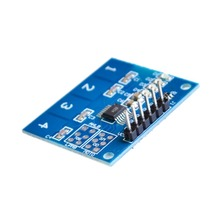 Free Shipping  NEW 4Channel Digital Touch Sensor Capacitive Switch Module Button For Arduino TTP224