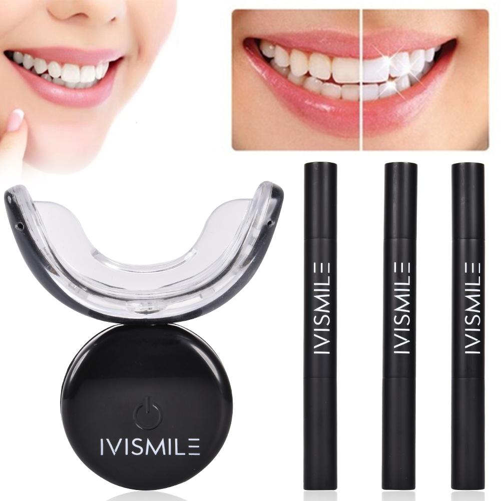 Family Mini LED Teeth Whitening Cold Light Teeth Whitening Dental Cleaner Clean Blue Beauty Instrument Whitening Laser New