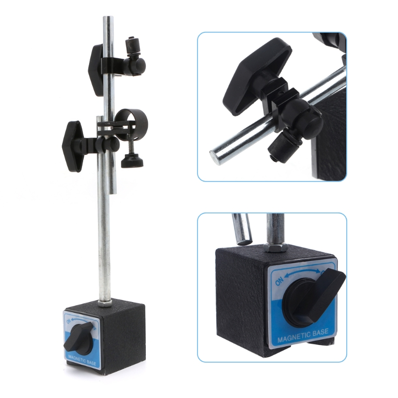 Soporte de Base magnética con poste doble ajustable para Indicador de Dial medidor de prueba Sofirn SP33 potente linterna LED 26650 Cree XHP50 3000lm linterna táctica 18650 luz de Flash 6 modos con actualización de luz indicadora