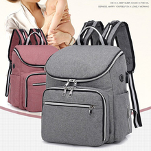 лучшая цена Baby Diaper Bag Maternal Mummy Backpack Large Capacity Multi-Function Baby Care Outdoor Travel Diaper Bags