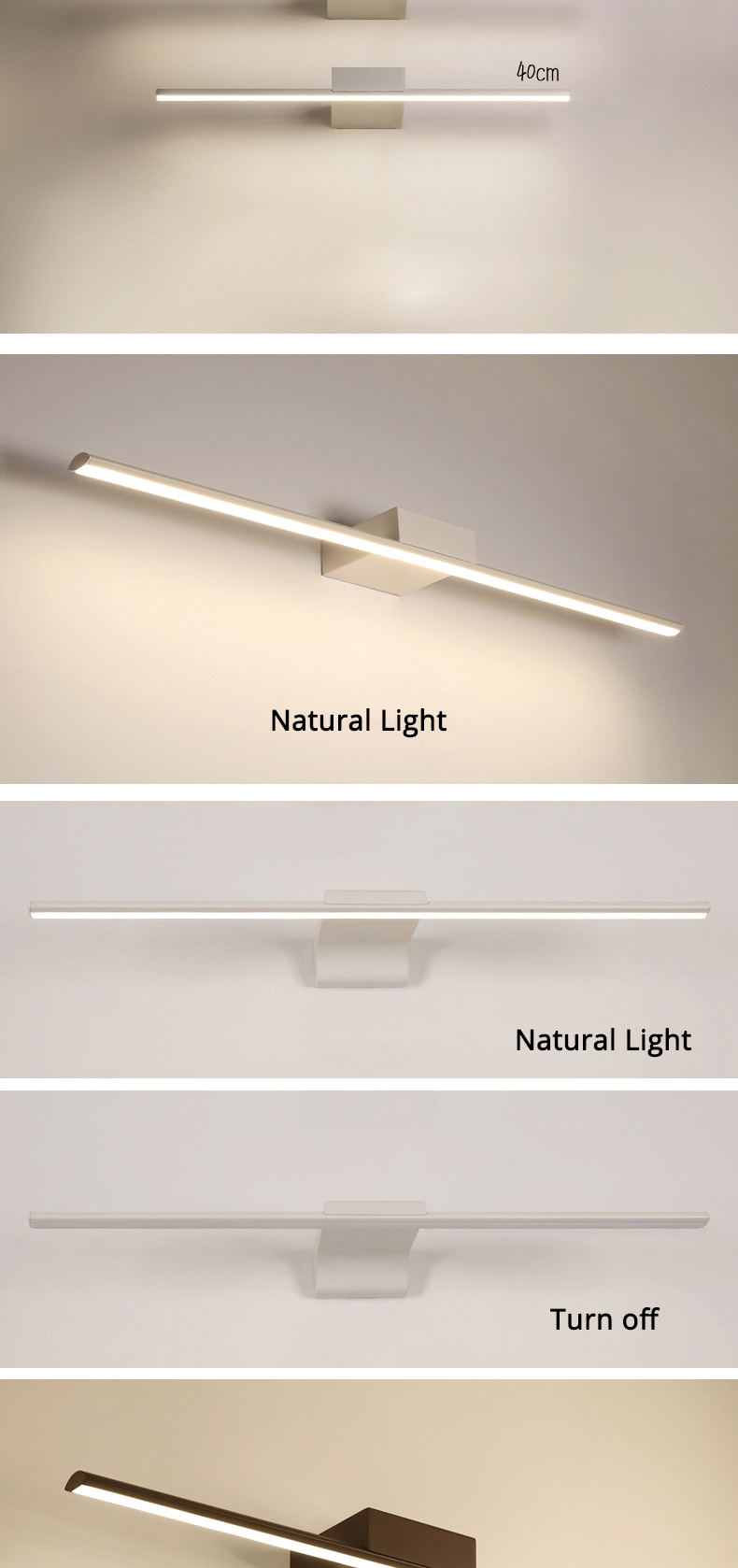 wall lamp for bathroom