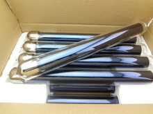 10 units all glass vacuum tube, evacuated tube for solar water heater 58mm dia 500mm length
